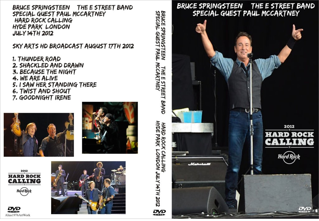 Springsteen at Hard Rock Calling