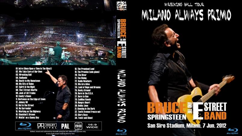 Bruce Springsteen Milano Always Primo