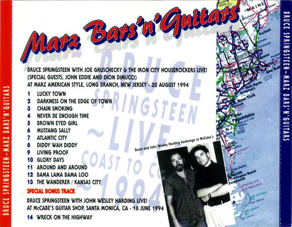 Springsteen at arz Bars'n' Guitars