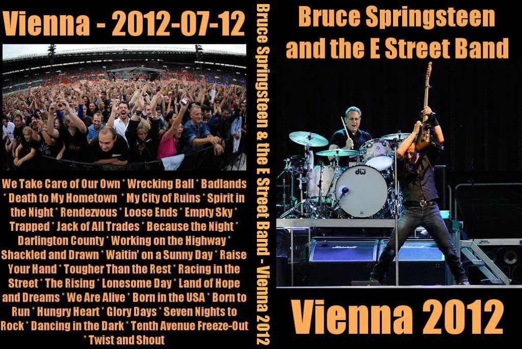 Springsteen's Wrecking Ball Tour in Wien